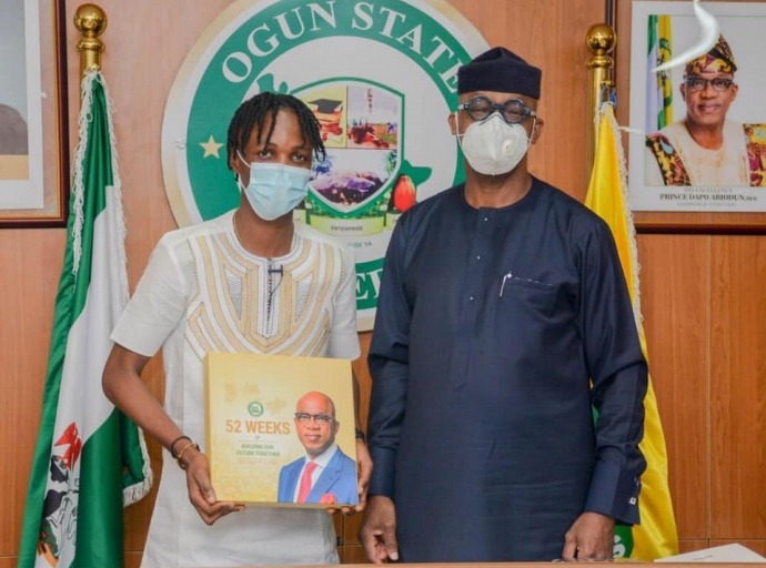 Gov. Abiodun appoints Laycon as Ogun Youth Ambassador...Gives him house and cash